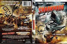 Sharknado DVD SIGNED 12X extra IAN ZIERING SHARK DRAWING Plus Photos of signing