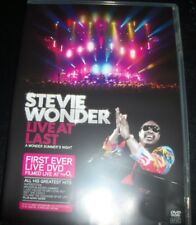 Stevie Wonder Live At Last (Australia All Region) DVD – New (Not Sealed)