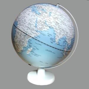 STUNNING LED Blue Ocean Educational World Globe Lamp Home Decor Wedding Gift