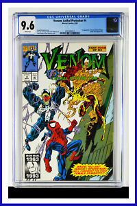Venom Lethal Protector #4 CGC Graded 9.6 Marvel May 1993 Comic Book