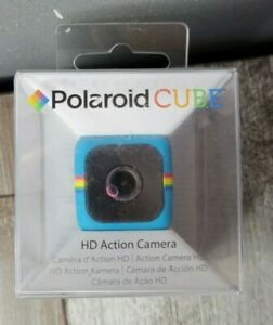 Polaroid Cube HD Action Camera Teal Blue 6mp Wide Angle Lens Blue READ