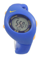New Nike Kids Triax Junior WR0017 Dark Blue Varsity Maize Digital Sports Watch
