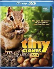 Tiny Giants 3D (3D Blu-ray / Blu-ray) BBC Earth NEW