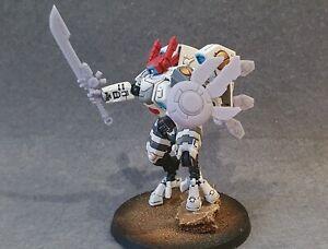 Fusion Blade and Shield Compatible With Tau Empire Commander Farsight Dawn