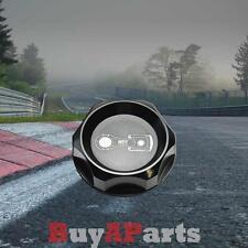 Aluminum Engine Oil Filler Cap Cover Honda Accord Civic Del Sol CRX RSX Black