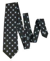 HUGO BOSS Men's Black Pure Silk Made in Italy Neck Tie