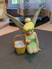 Tinker Bell's Basket Of Wishes Figurine, Lenox, Longaberger Company