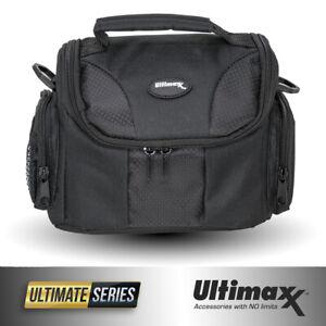 Deluxe Medium Camera Bag for Nikon COOLPIX P900 B500 B700 Panasonic FZ300 FZ80