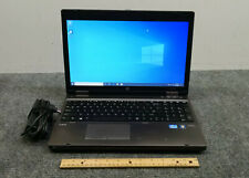 "HP ProBook 6560b 15.6"" Laptop Core i5-2410M, 8 GB RAM, 500 GB HDD w/Adapter"