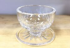 "Waterford Crystal Lismore 3"" Footed Dessert Bowl Old Waterford MarK MINT COND."