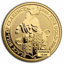 Great Britain 1/4 oz Gold Queen's Beasts Proof (Random Year) - SKU#224624