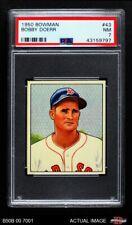 1950 Bowman #43 Bobby Doerr Red Sox PSA 7 - NM
