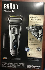 Braun 9295CC Series 9 Wet & Dry Mens Electric Shaver Cleaning Cartridge Carry Cs
