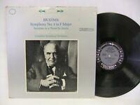 Brahms Symphony No. 3 in F Major, Bruno Walter 60's LP Columbia MS 6174