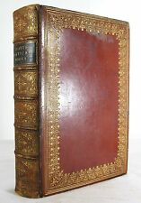 1876 POETICAL WORKS OF SIR WALTER SCOTT LEATHER SIGNED BINDING BICKERS & SONS