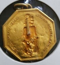 médaille en Bronze de la musique avant toute chose - BEZOMBES / RB sur tranche