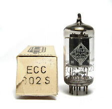 Telefunken ECC802S Röhre, Professional ECC82 / 12AU7 High End Audio Tube, NOS