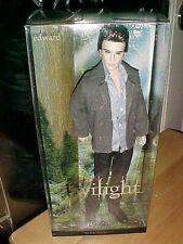 2009 Mattel Barbie Pink Label Doll Twilight Edward Cullen New In Box