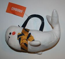 New Gymboree Whale Plush Purse NWT Cape Cod Cutie One Size 2 3 4 5 6 7 8 9 10 12