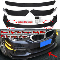 Front Bumper Spoiler Lip Splitter Chin Protector Per VW Golf MK6 MK7 Polo 9N