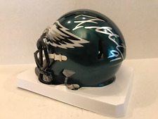 FLETCHER COX Signed Philadelphia Eagles Speed Mini Helmet COA/Holo SB Champion