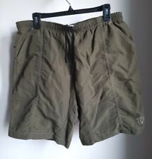 Pearl Izumi Men's Shorts With Padded Liner Cycling Mountain Bike Size L Green