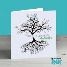 Personalised School Teacher Leaving Card - Thank You Childminder - Nursery