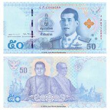 Thailand 50 Baht 2018 New King P-136 Banknotes UNC