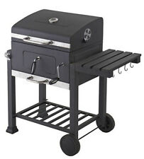 Holzkohlegrill Grillwagen Grill BBQ Smoker Holzkohle Gartengrill Kohlegrill