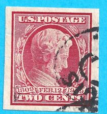 U.S. #368  VF Used 2 cent Lincoln  m1932