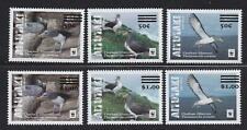 Aitutaki (2019) WWF Albatross Issue Re-Valued - sgls