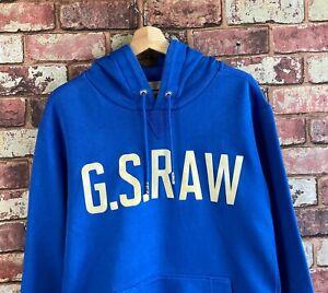 G.S. RAW G-STAR Hoodie Hooded Sweatshirt Size XL  : LS486