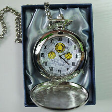 Who is Doctor Dr Who David John McDonald Prop Master's Fob Cosplay Pocket Watch