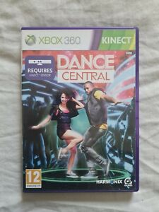 DANCE CENTRAL Xbox 360 KINECT Game COMPLETE UK PAL VERSION