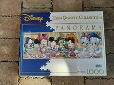 Clementoni Disney Panorama 1000 Piece Puzzle New and Sealed