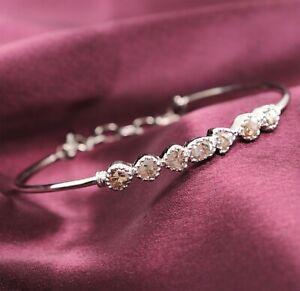 1.30 Ct Diamond Bracelet  Antique Vintage Rose Cut Fine Jewelry