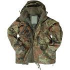 ECWCS Army Jacket Combat Mens Smock Hooded Parka + Fleece Flecktarn Camo S-3XL
