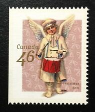 Canada #1815as Left Mint NH, Christmas Victorian Angels Booklet Stamp 1999