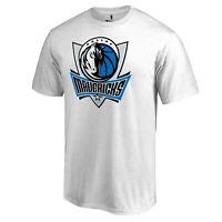 Dallas Mavericks White T-shirts S-4XL