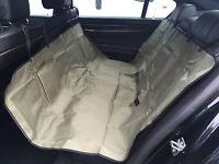 Heavy Duty Rear Seat Protector Pet Hammock Boot Trunk Liner Green & Black 3in1