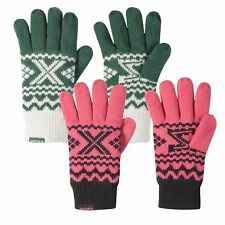 adidas ORIGINALS UNISEX GLOVES ZX WINTER WARM PINK GREEN FLEECE LINING
