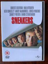 Sneakers DVD 1991 Crime Caper Movie w/ Robert Redford Dan Aykroyd River Phoenix