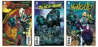 3 GREEN LANTERN #23 3D Covers RELIC BLACK HAND MONGUL all NM/M! DC New 52!
