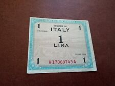 Italy Allied Military Currency - 1 Lira 1943 - Banknotes - 1