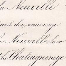 Jeanne De La Neuville 1871 Renaud De La Chataigneraye