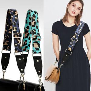 130cm Shoulder Bag Strap Wide 5cm Nylon Leopard Single Diagonal Backpack Strap