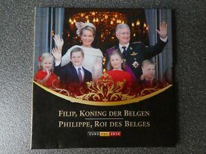 Belgien KMS 2014 - König Philippe -  im Folder , original