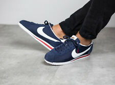 UK 10 NIKE CORTEZ NYLON PREM MENS CASUAL TRAINERS EU 45 (876873 400)