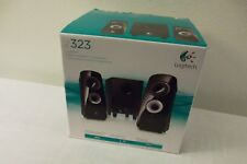 Logitech Z323 Multimedia 2.1 Speaker  30W 3.5mm Headphone Jack On/Off 980-000354