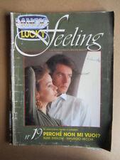 Lancio Feeling Suppl. LUCKY allegato n°268 1990 Rivista di Fotoromanzi [G829]
